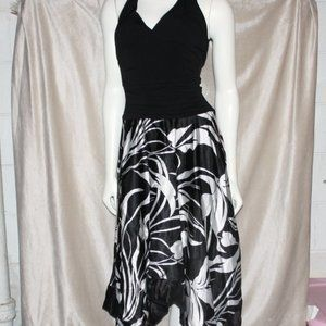 Black and white Small Summer dress Speechless